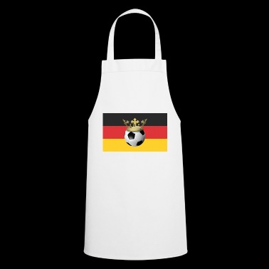 Football Germany Black Red Gold Crown - Cooking Apron