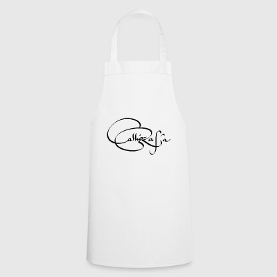 calligraphy - Cooking Apron