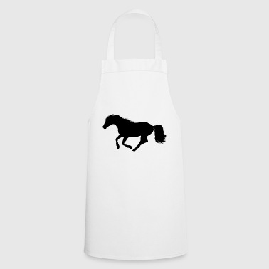 Horse gallop riding - Cooking Apron