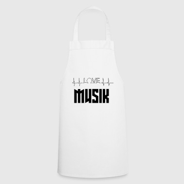 love music - Cooking Apron