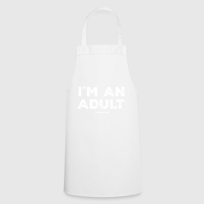 Adult parents funny gift childish - Cooking Apron