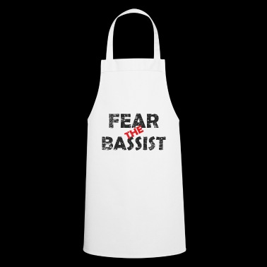 Cool fantastic: Fear the bass player - Cooking Apron