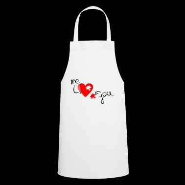 You and me, even love - Cooking Apron