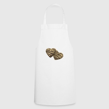 Chocolate heart - Cooking Apron