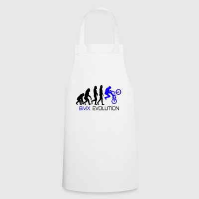 Evolution - BMX Dirt Bike Shirt Gift - Cooking Apron