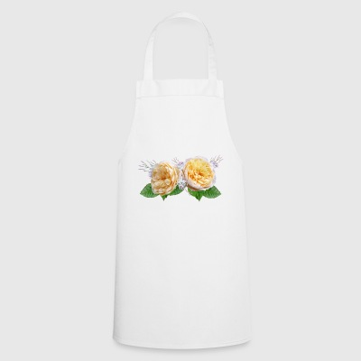 rose roses roses flowers flowers garden garden - Cooking Apron