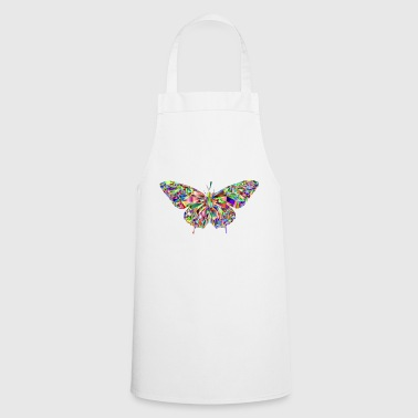 Butterfly mosaic - Cooking Apron