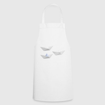 paper boat - Cooking Apron