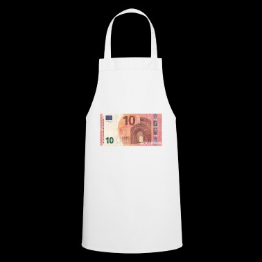 Euro bill / Euro / Euro bill - Cooking Apron