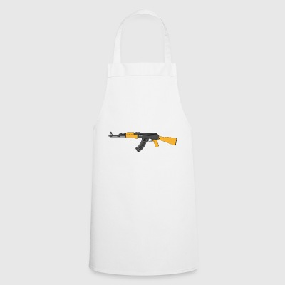 machine gun - Cooking Apron