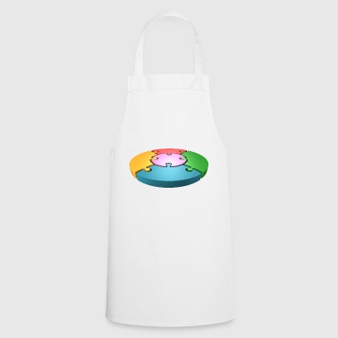 rainbow sun clouds weather rainbow sun cloud29 - Cooking Apron