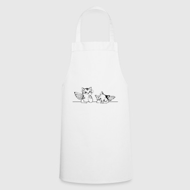 angel cats - Cooking Apron