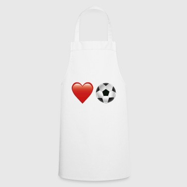 Aime le football - Tablier de cuisine