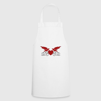 Heart with wings - Cooking Apron