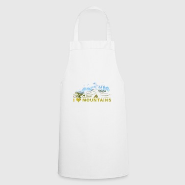 I LOVE MOUNTAINS - Cooking Apron
