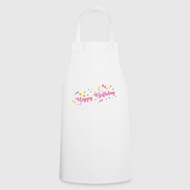 Happy Birthday - Cooking Apron