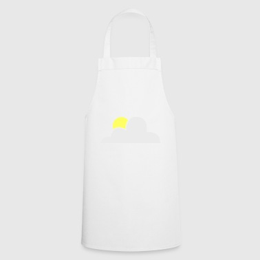 rainbow sun clouds weather rainbow sun cloud89 - Cooking Apron