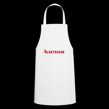 Electrician occupation, electronics, electrical engineering - Cooking Apron