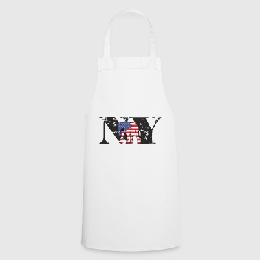 NY-ELEPHANT - Cooking Apron