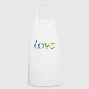 love romantic font for lovers - Cooking Apron