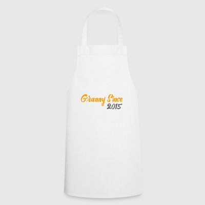 Granny since 2015 - Cooking Apron