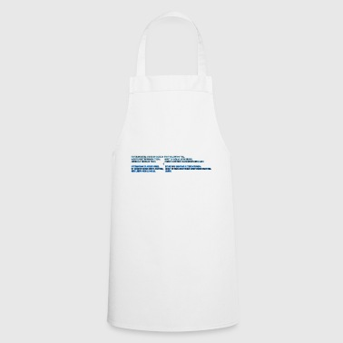 Lord's prayer - Cooking Apron