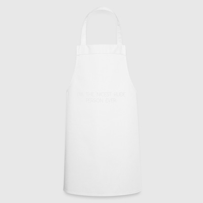 rude person - Cooking Apron