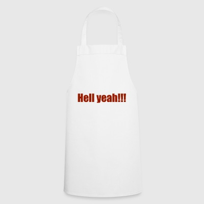 Hell Yeah !!! - Cooking Apron