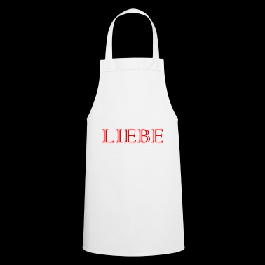 LOVE Love Romantic I love Loved - Cooking Apron
