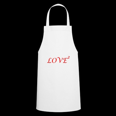 LOVE love Loved love romantic i love - Cooking Apron