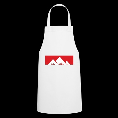 The mountain is calling - mountain, mountains - Cooking Apron