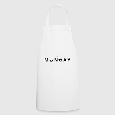 Monday / Monday / Eyelashes / Gift / Cup - Cooking Apron
