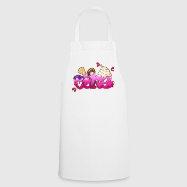 Cake Graffiti lettering - Cooking Apron