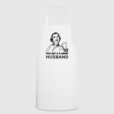 Great Husband. Family motivational - Cooking Apron