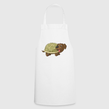 Cute cartoon Dachshund Toad - Cooking Apron