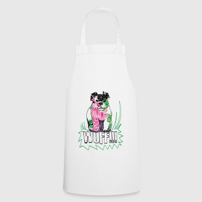dog woof - Cooking Apron