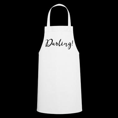Darling! #love #partner #boyfriend #girlfriend - Cooking Apron