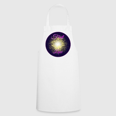 Light be, Let there be light (by FEDVAL) - Cooking Apron