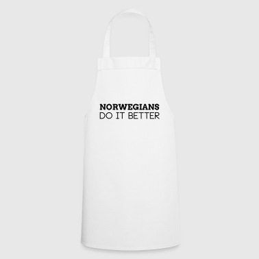 NORWEGIANS DO IT BETTER - Cooking Apron