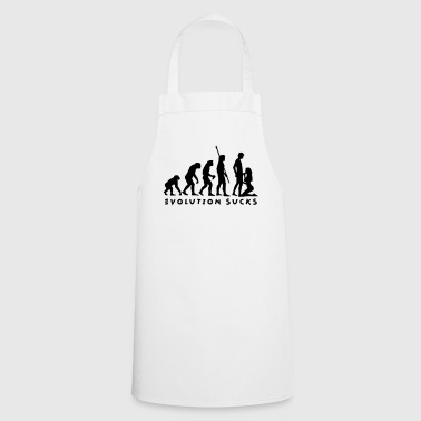 evolution_sucks_b_1c - Cooking Apron