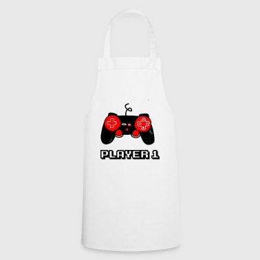 PLAYER ONE - GEEK - GAMER - GAMING - Cooking Apron