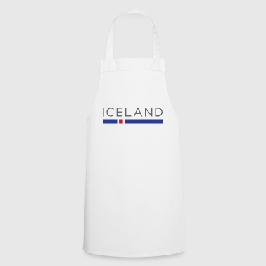 ICELAND WORLD DESIGN - Icelandic Football Gift - Cooking Apron