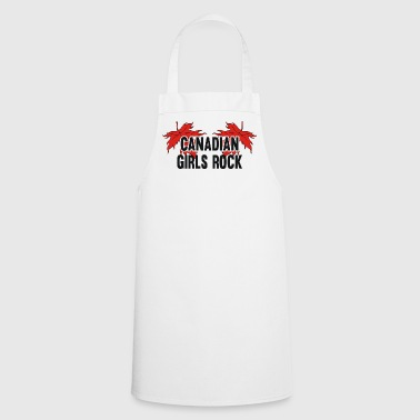 Canadian Girls Rock - Cooking Apron