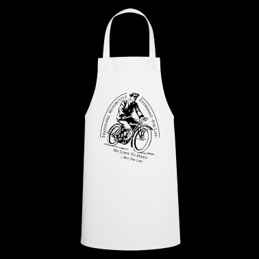 Traditional Motorcycle Enthusiast -For Life - Cooking Apron