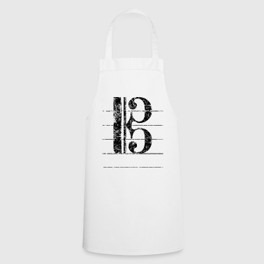 Tenor key, musical key - Cooking Apron