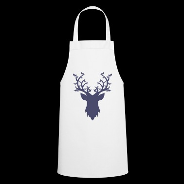 WildHunters deer head - Cooking Apron
