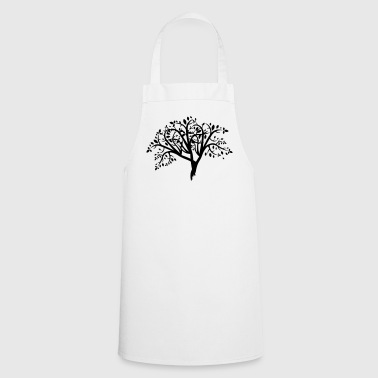 Tree illustration - Cooking Apron