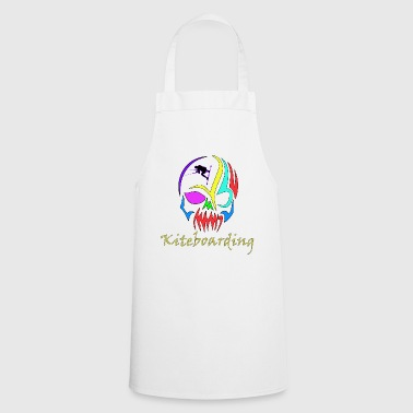 Kiteboarding Skull - Cooking Apron