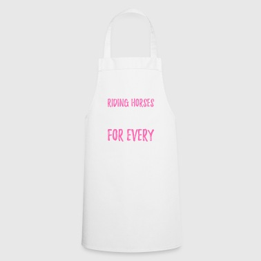 Riding Horses - Cooking Apron