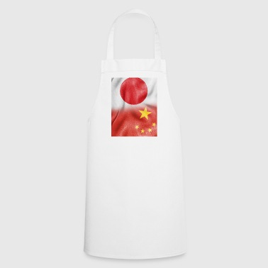 japan china flag - Grembiule da cucina